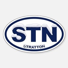 Snowcapped Stratton VT Decal