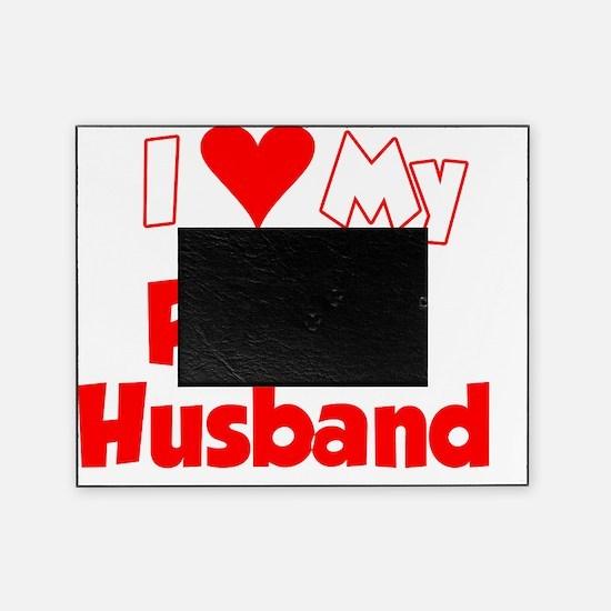 I Love My Polish Husband Shirt Picture Frame