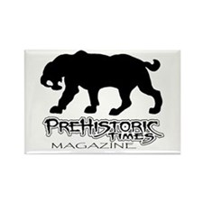 Saber Tooth Cat Rectangle Magnet