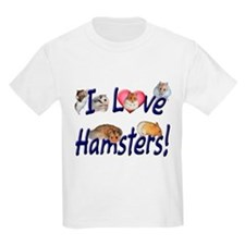 I Love Hamsters #01 Kids T-Shirt