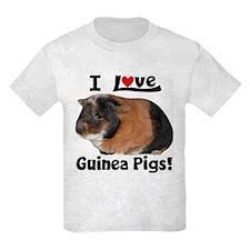 I Love Guinea Pigs #04 Kids T-Shirt