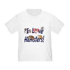 I Love Hamsters #01 T