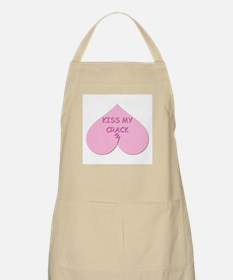KISS MY CRACK BBQ Apron