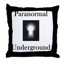 2-on black Throw Pillow
