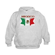flag Mexico ribbon Hoodie