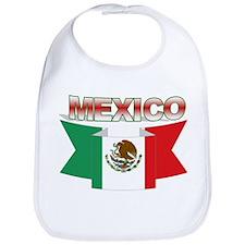 flag Mexico ribbon Bib