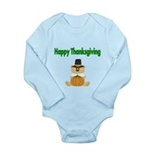 Happy Thanksgiving With Bear Body Suit