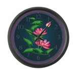 Lotus Large Wall Clock