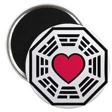 lovedharma2BLK Magnet