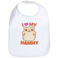 I Love My Hammy Bib