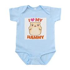 I Love My Hammy Infant Bodysuit