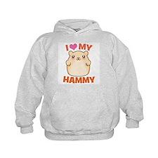 I Love My Hammy Hoodie
