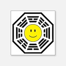 "happydharma Square Sticker 3"" x 3"""