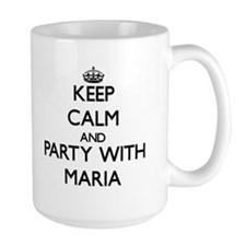 Keep Calm and Party with Maria Mugs