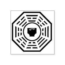 "dharmadiaper Square Sticker 3"" x 3"""