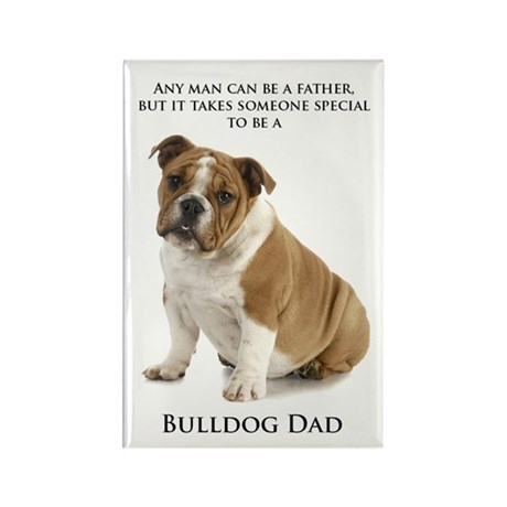 Bulldog Dad Magnets
