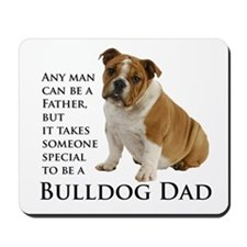 Bulldog Dad Mousepad