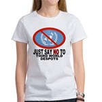 Just say NO to the UN Women's T-Shirt