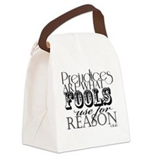 Prejudices Canvas Lunch Bag