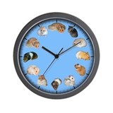 Hamster clock Wall Clocks