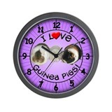 Guinea pig clock Wall Clocks