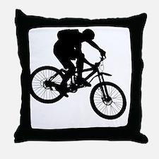 ride_bk Throw Pillow