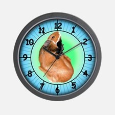 What Time Is It? Guinea Pig Wall Clock