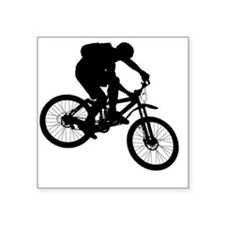 "ride_bk Square Sticker 3"" x 3"""
