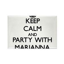 Keep Calm and Party with Marianna Magnets