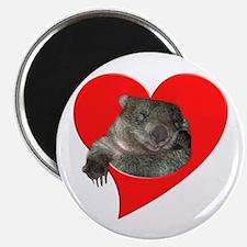 Wombat Love Magnet