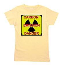 DANGER-CARBON-EMISSIONS Girl's Tee