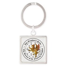 Rapier Gryphons Pride Square Keychain