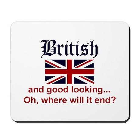 Good Looking British Mousepad