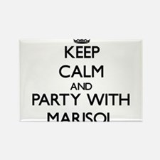 Keep Calm and Party with Marisol Magnets