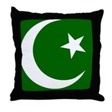 pakistanWG Throw Pillow