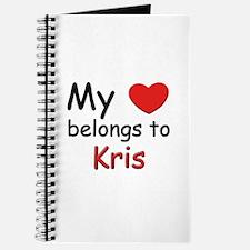 My heart belongs to kris Journal