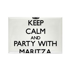 Keep Calm and Party with Maritza Magnets