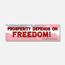 prosperityfreedom Car Magnet 10 x 3