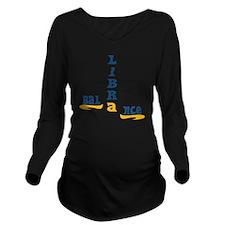 Libra_Balance Long Sleeve Maternity T-Shirt
