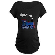 train age 5 blue black T-Shirt
