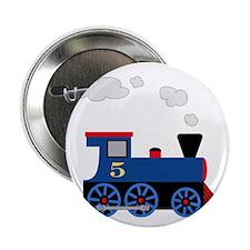 """train age 5 blue black 2.25"""" Button"""