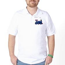 train age 3 blue black T-Shirt