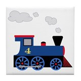 Choo choo train Tile Coasters