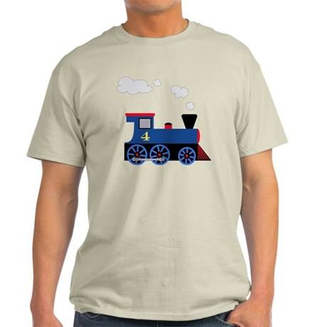train age 4 blue black Light T-Shirt
