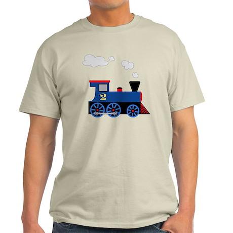 train age 2 blue black Light T-Shirt