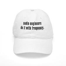 audio eng impossible font shirt Baseball Cap
