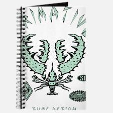 SUNSET SHRIMP PROOF MINT Journal