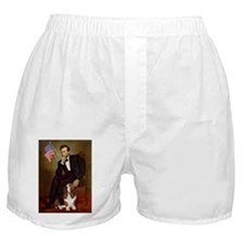 TILE-Lincoln-Basset2.png Boxer Shorts
