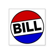 """bill-shrock Square Sticker 3"""" x 3"""""""