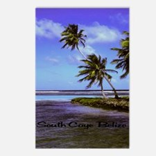 South Caye Belize 16x20 Postcards (Package of 8)